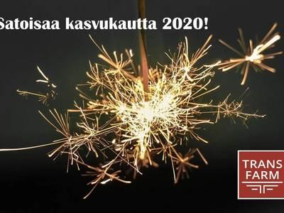 Satoisaa kasvukautta 2020!
