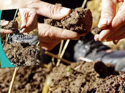 Peltojen kunnostus -kirja opiksi ja ojennukseksi myös kuminan viljelijälle